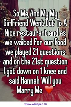 Will this please happen to me? My name is Hannah