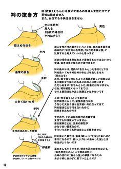 「着物をそれっぽく描くポイント」 [8]