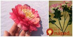 Vyblednuté a staré umelé kvety väčšina ľudí jednoducho vyhodí do koša: Táto žena ich  zhromažďuje a premieňa na úžasné veci!