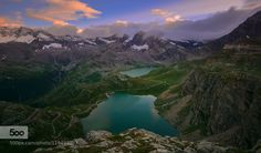 Alpine Lakes by GiuseppeRizza #landscape #travel