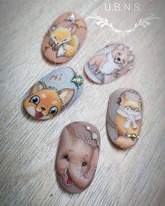"#animalnailart #naildesign#nailart Маникюр. Дизайн ногтей. МК (@ru_nails_master) on Instagram: ""Мастер @ujvaribarbara Нравится работа? Ставь  #ru_nails_master #дизайнногтей #ноготки #маникюр…"""