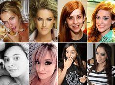 Sem glamour! Confira fotos de várias celebridades sem maquiagem http://r7.com/Kh7g