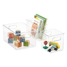 Linus Storage Binz, Container Store, for closet Deep Drawer Organization, Bathroom Closet Organization, Fridge Organization, Container Organization, Storage Organization, Organized Fridge, Bathroom Storage, Storage Ideas, Fridge Storage