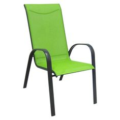 Room Essentials® Nicollet Patio Stacking Chair   Green. At Target For $19