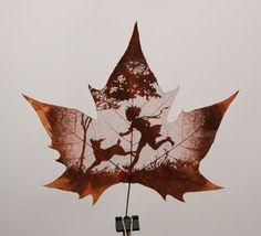 leaf scraping, sanding?