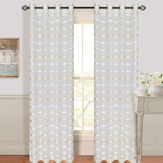 Arla Grommet Single Curtain Panel