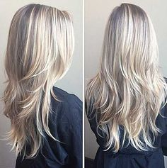Layered Haircut for Long Blonde Hair
