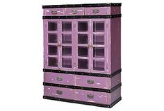 Voyager Trunk Cabinet,