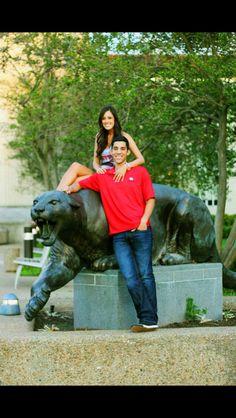 University of Houston Engagement Photos-Margret & Diego