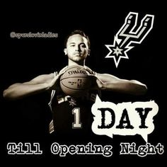 856a9e56a Spurs Kyle Anderson. 1 Day till Opening Night
