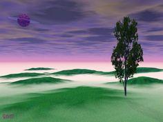 Alone  Digital Art by Raven