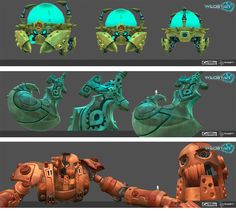 Conheça a arte 3D do game Wildstar (Carbine Studios) | THECAB - The Concept Art Blog