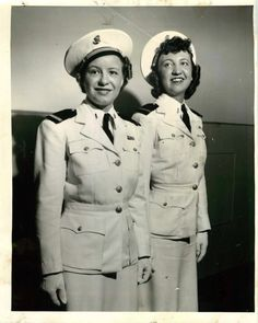 Women from the navy nursing corps. Early 1940s