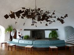 Whenever you read a travel article about Lanzarote (including any of mine; I'm just as guilty) they'll mention the architect Cesar Manrique – the man whose existence means that Lanzarot… Mediterranean Architecture, Interior Architecture, Little Island, Exotic Places, Island Design, Canario, Travel Articles, Canary Islands, Island Beach