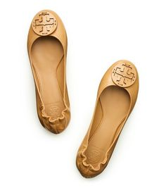 Iced Coffee Reva Flats from Tory Burch.