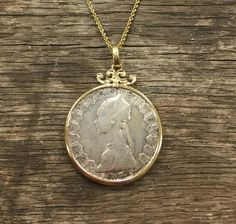 14 Karat Yellow Gold Italian Coin Necklace - Repair Palace