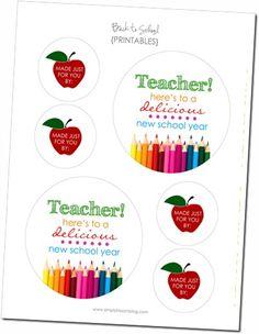 School Printables - love these!