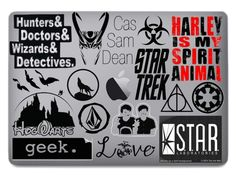 """Dream Laptop Stickers"" by serena-watson ❤ liked on Polyvore"