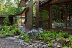 Shoreland Overlook   Murdough Design; Photo: Chuck Choi   Archinect Architect Design, Maine House, Second Floor, Landscape Architecture, Floor Plans, Exterior, Gallery, Places, Home