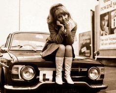 La cantante escocesa Lulu en los años 60