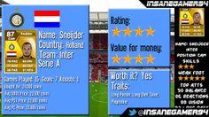 wesley sneijder fifa 14