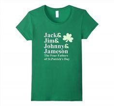 19.95$  Buy here - http://vieuw.justgood.pw/vig/item.php?t=m35zbg31438 - Saint Patricks Day Shirts   Jack Jim Johnny Jameson Fathers Women