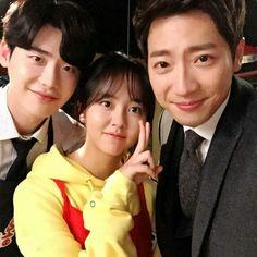 Lee Jong Suk - Kim So Hyun - Lee Sang Yeob