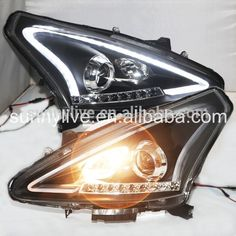 Source For NISSAN Tiida for Nissan Pulsar LED Head Lamp Angel Eyes 2011to 2015 year LF on m.alibaba.com