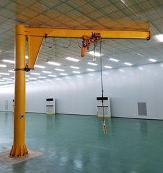 La grúa pescante giratoria con una capacidad pequeña. Y este tipo de grúa siempre se utiliza en las fábricas.   E-mail: sales@aicrane.com.mx