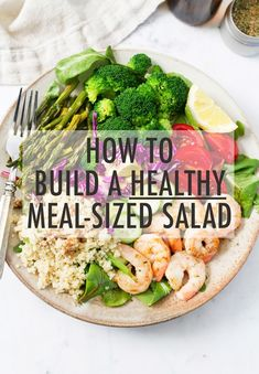 How to Build a Healthy Salad -- Eating Bird Food