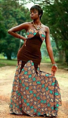 African dress ~African Prints, African women dresses, African fashion styles, african clothing