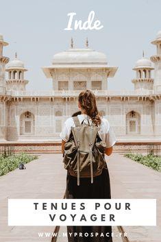 En Inde, il convient donc de respecter les coutumes culturelles. En tant qu'occidental, il faut faire attention aux tenues vestimentaires. Pour préparer sa valise pour l'Inde, il est important de penser à des vêtements légers. #inde #india