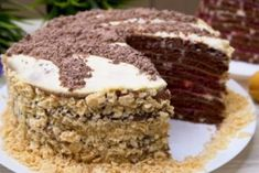 Торт на сковороде. Никакой духовки и раскатки коржей Vegetarian Desserts, Tiramisu, Food And Drink, Tasty, Baking, Health, Ethnic Recipes, Youtube, Life
