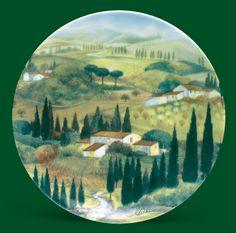 Decorative Plate | Tuscany