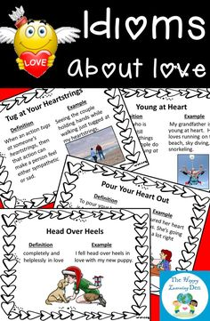 Get your students excited about figurative language with these love-themed idioms! Great for the month of February or anytime of the year! Click the picture to learn more.