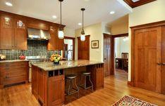 Love this Craftsman-style kitchen!