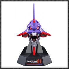 Neon Genesis Evangelion - Evangelion Unit-01 (EVA-01) Head Free Papercraft Download - http://www.papercraftsquare.com/neon-genesis-evangelion-evangelion-unit-01-eva-01-head-free-papercraft-download.html