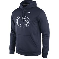 Men's Nike Navy Penn State Nittany Lions Practice Performance Hoodie