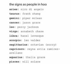 Percy Jackson zodiac signs - I have the same zodiac as Percy! But I'm the 30th of July thou