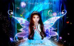 diseño de invitacion de Primera Comunion con la fotografia de la niña y de la iglesia donde se realiza el evento.