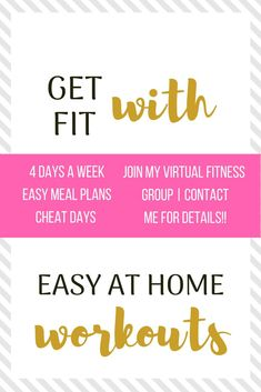 Workout At Home to #LoseWeightAfterBaby and #GetInShapeFast | Get #EasyCleanEatingMeals and #30MinuteWorkouts to Lose Weight After 40