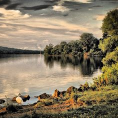 Pretty photo of Lake Galena at Peace Valley Park captured by @Matt Yates on Instagram.
