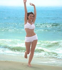 fun summer bathing suits   Vintage Bathing Suits: Zelda Sweet Water : Swing Fashionista
