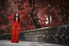Red of the Dragon, Fashion Editorial in Papercut Magazine