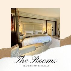 A Classy, Majestic Resort in the Swiss Alps — Grand Resort Bad Ragaz – SWITZERLAND Swiss Alps, Switzerland, Classy, Bed, Furniture, Home Decor, Decoration Home, Chic, Stream Bed