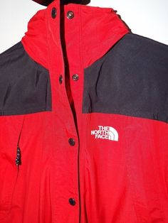 The North Face womens Shell size Small, Red/Black, interchangeable #TheNorthFace #BasicJacket