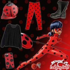 Miraculous Ladybug inspired outfit