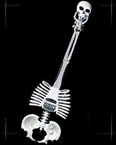 INTERESTING SKULL GUITAR