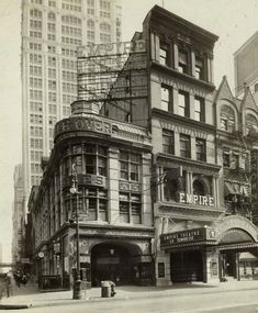 old 1930 photograph of The Empire Theatre, 1430 Broadway - New York, NY
