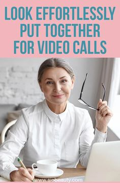 How To Look Effortlessly Put Together For Video Calls - Easy Beauty Tips Diy Skin Care, Skin Care Tips, No Makeup Selfies, Cosmetic World, Wrinkle Remedies, Home Remedies For Skin, Love Your Skin, Anti Aging Tips, Facial Oil